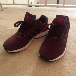Adidas Torsion suede sneakers